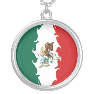 Drapeau Gnarly du Mexique Pendentif Personnalisé