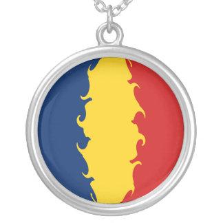 Drapeau Gnarly du Tchad Collier