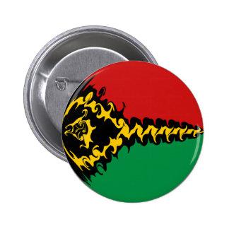 Drapeau Gnarly du Vanuatu Badges Avec Agrafe