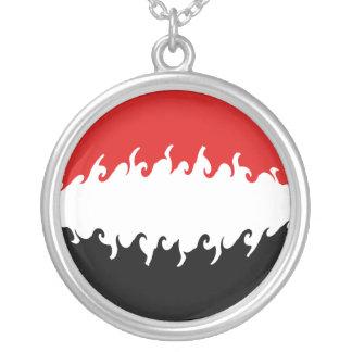 Drapeau Gnarly du Yémen Collier Personnalisé