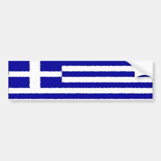 Drapeau grec autocollant de voiture
