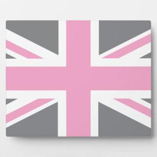 Drapeau anglais plaques drapeau anglais impresion sur plaques avec photo - Drapeau anglais gris ...