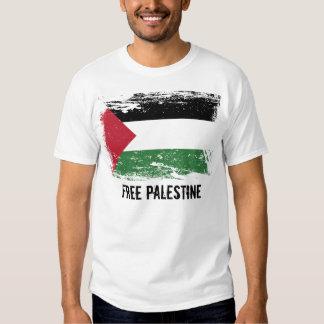 Drapeau grunge de la Palestine T-shirts