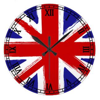 drapeau anglais horloges drapeau anglais horloges murales. Black Bedroom Furniture Sets. Home Design Ideas
