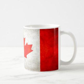 Drapeau grunge du Canada Mug