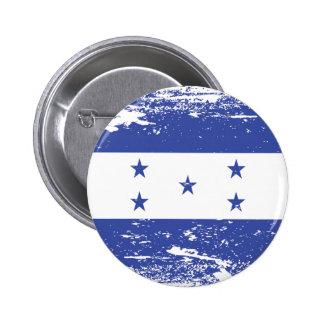 Drapeau grunge du Honduras Badge