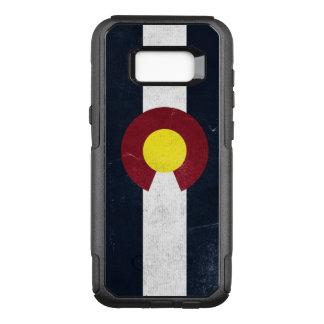 Drapeau grunge foncé du Colorado Coque Samsung Galaxy S8+ Par OtterBox Commuter