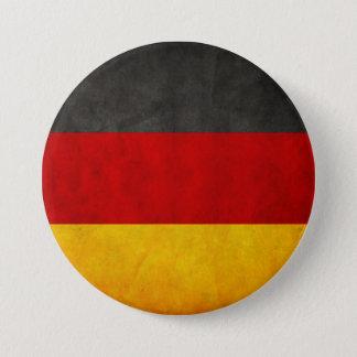 Drapeau grunge vintage du Deutschland de drapeau Badges