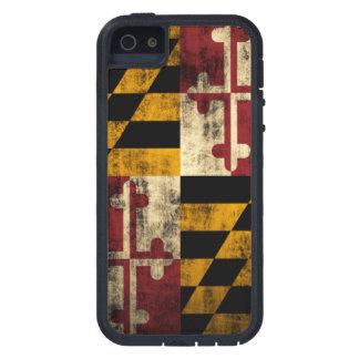 Drapeau grunge vintage du Maryland Coque Case-Mate iPhone 5