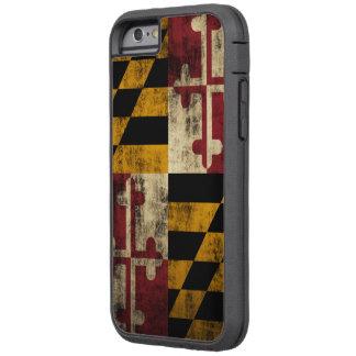 Drapeau grunge vintage du Maryland Coque Tough Xtreme iPhone 6