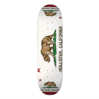 drapeau Hollister de la Californie affligé Skateboards Customisés