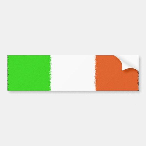 Drapeau irlandais autocollant pour voiture