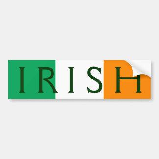 drapeau irlandais autocollants pour voiture