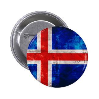 Drapeau islandais badges