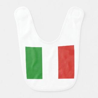 Drapeau italien bavoirs de bébé