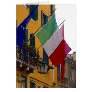 drapeau italien carte