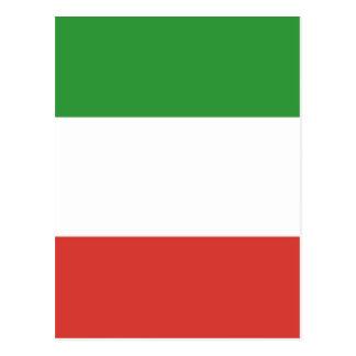 Drapeau italien cartes postales