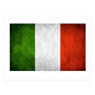 Drapeau italien drapeau de l Italie Cartes Postales
