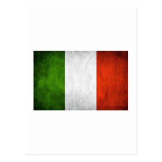 Drapeau italien, drapeau de l'Italie Carte Postale
