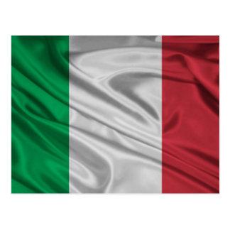 Drapeau italien fier et patriotique cartes postales
