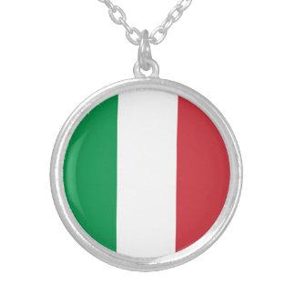 Drapeau italien patriotique collier