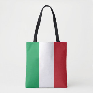Drapeau italien patriotique tote bag