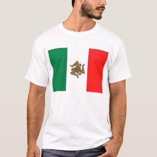 Drapeau italien sicilien t-shirt