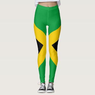 Drapeau jamaïcain complètement II Leggings