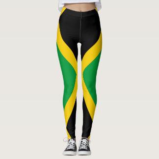 Drapeau jamaïcain complètement leggings