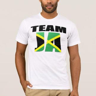 Drapeau jamaïcain de Ja d'équipe T-shirt