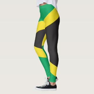 Drapeau jamaïcain leggings