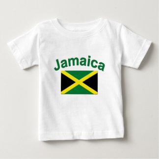 Drapeau jamaïcain t-shirt pour bébé