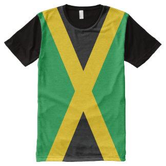 Drapeau jamaïcain t-shirt tout imprimé