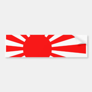 Drapeau japonais autocollant de voiture