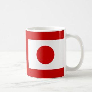 Drapeau japonais mug