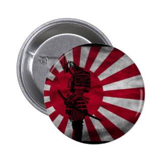Drapeau japonais samouraï pin's