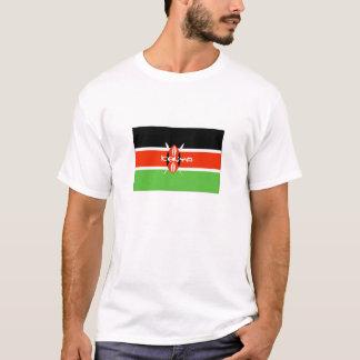 Drapeau kenyan t-shirt