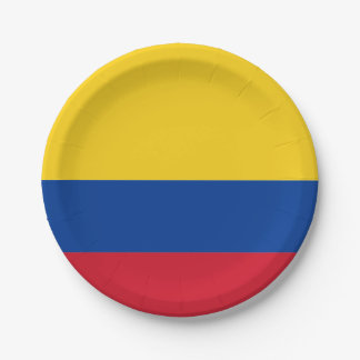 Drapeau : La Colombie Assiettes En Papier