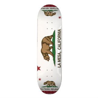 Drapeau La Mesa d état de la Californie Skateboards Personnalisables