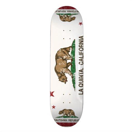 Drapeau La Quinta d'état de la Californie Skateboards