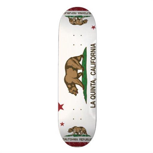 Drapeau La Quinta d'état de la Californie Skateboards Customisés