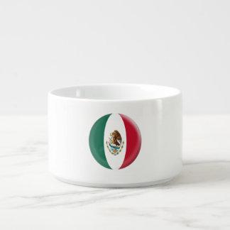 Drapeau mexicain du Mexique Bol Pour Chili