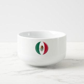 Drapeau mexicain du Mexique Mug À Soupe