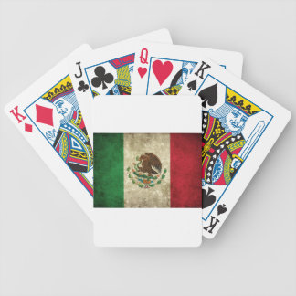 Drapeau mexicain jeu de cartes