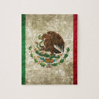 Drapeau mexicain puzzle