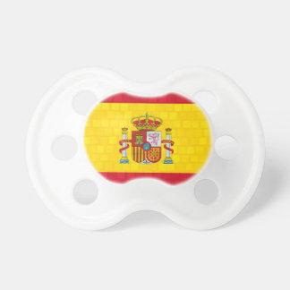 Drapeau moderne d'Espagnol de motif Tétine