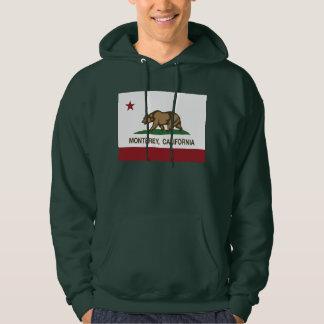 Drapeau Monterey d'état de la Californie Sweatshirts Avec Capuche