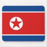 Drapeau Mousepad de la Corée du Nord Tapis De Souris