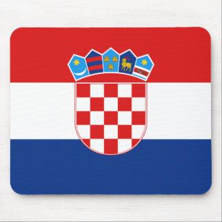 Drapeau Mousepad de la Croatie Tapis De Souris