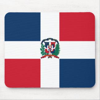 Drapeau Mousepad de la République Dominicaine Tapis De Souris